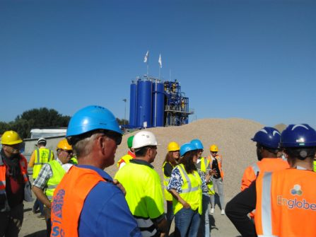 TOUR OF THE ECHARCON SOIL TREATMENT FACILITY